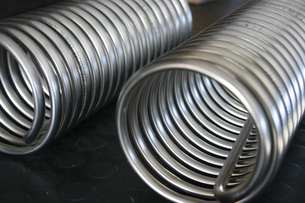 Spirali e serpentine in AISI - INOX